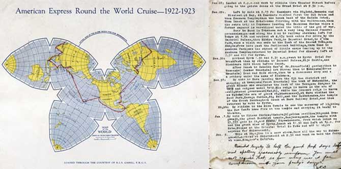 1922アメリカンエキスプレス世界一周:店長日記・アートポスター販売・Ocean-Note