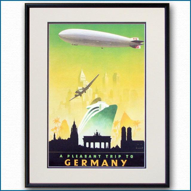 1930年 ドイツ観光局のポスター 2467LL
