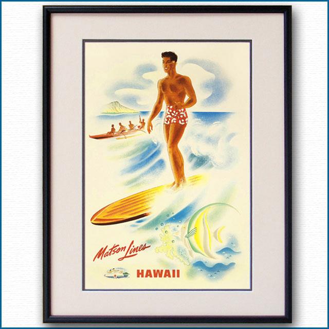 1940年 マトソンラインのポスター 2633LL