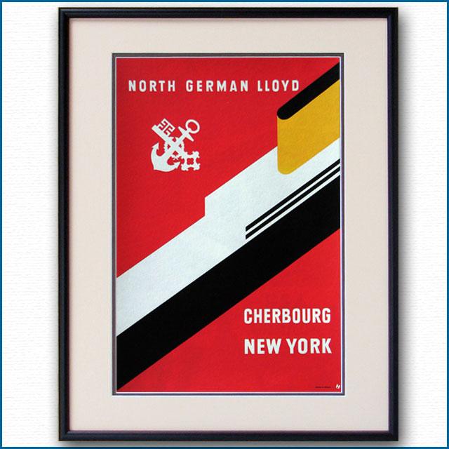 1960年 NDL北ドイツロイドのポスター 2719LL