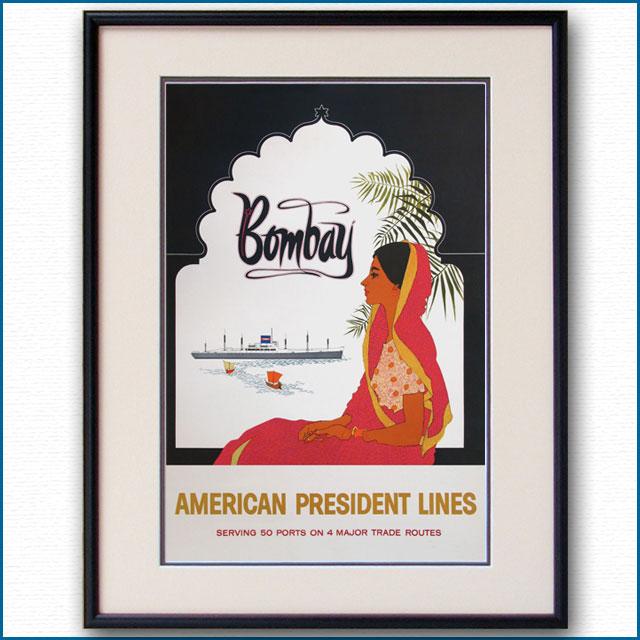 1959年 APL 客船プレジデント・ジャクソンのポスター 2844LL
