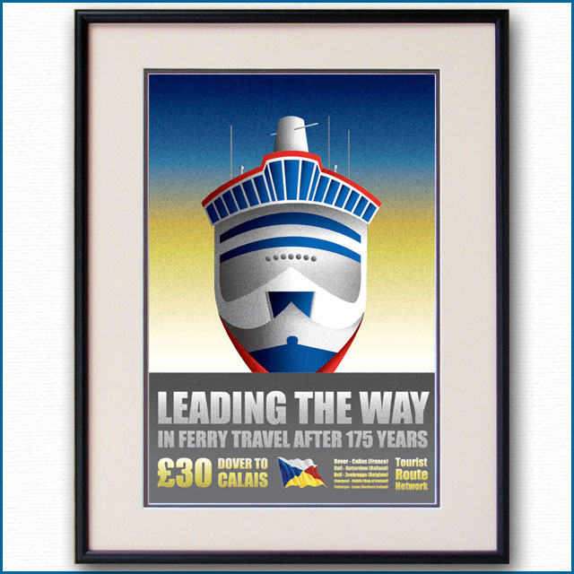 2012年 P&Oフェリーのポスター 2962LL
