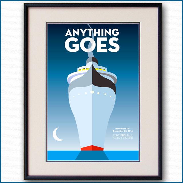 2014年 ANYTHING GOESのポスター 2964LL