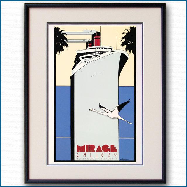 1977年 パトリック・ナゲル ミラージュギャラリーのポスター 2985LL