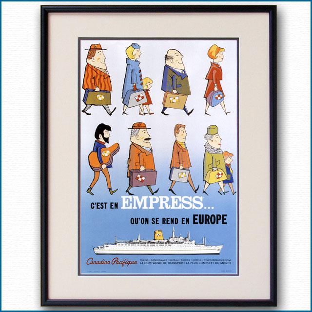 1950年 カナディアンパシフィックのポスター 2995LL