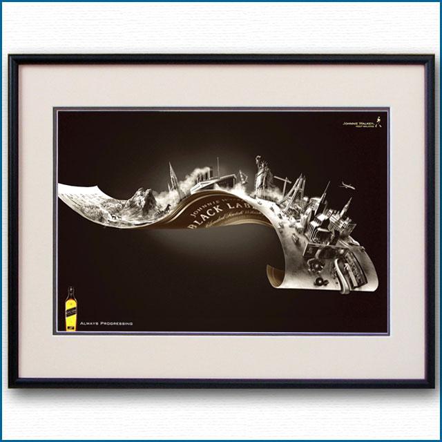 2011年 ジョニーウォーカー黒ラベルのポスター 3003LL