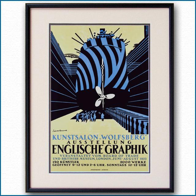 1923年 イングリッシュグラフィックのポスター 3033LL