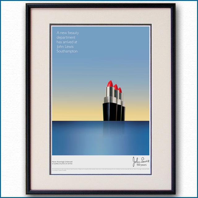 2015年 ジョンルイス・サウザンプトン店のポスター 3073LL