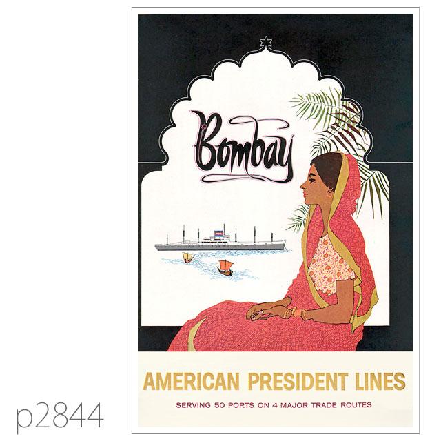 APL・客船レジデント・モンローのポスター ポストカード