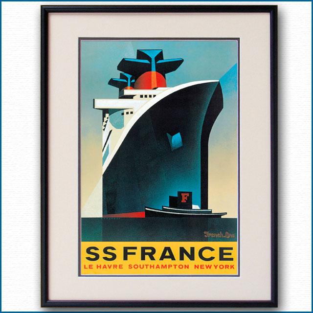 1979年 スティアニー 客船フランスのポスター 2026LL
