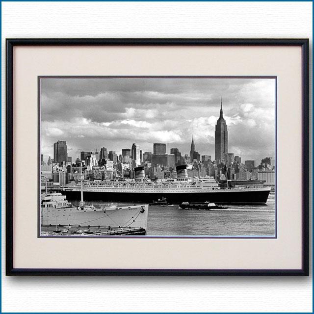 1950年代 客船クイーンエリザベスの写真 2153LL