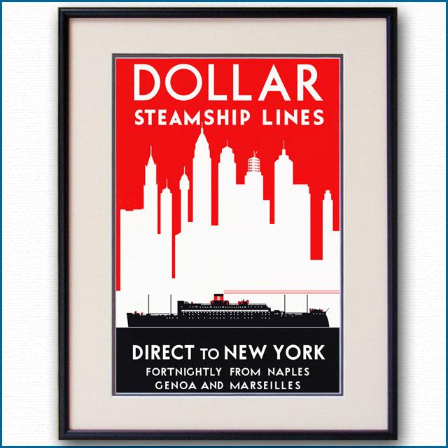 1923年 ダラーラインのポスター 2466LL