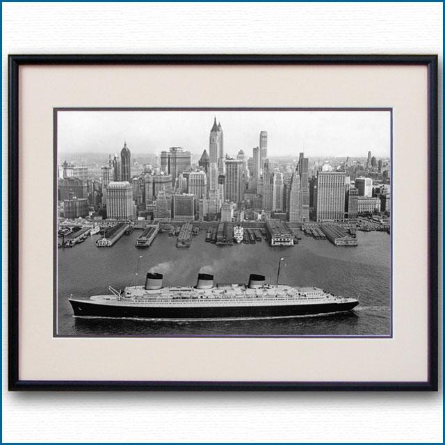 1938年頃 客船ノルマンディーの写真 2489LL