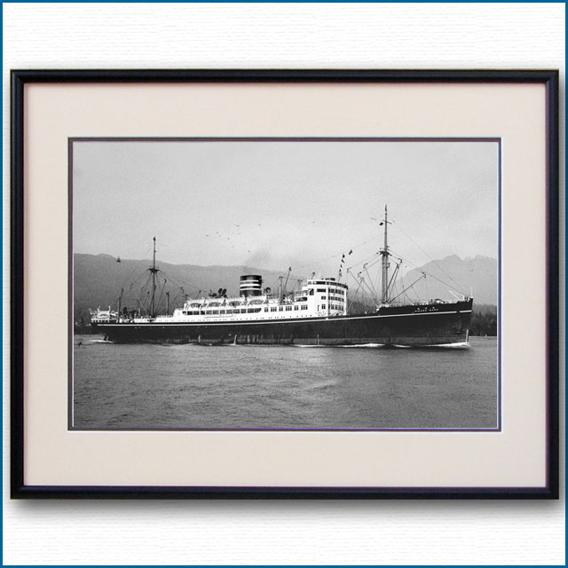 1930年代 日本郵船・氷川丸の写真 2491LL