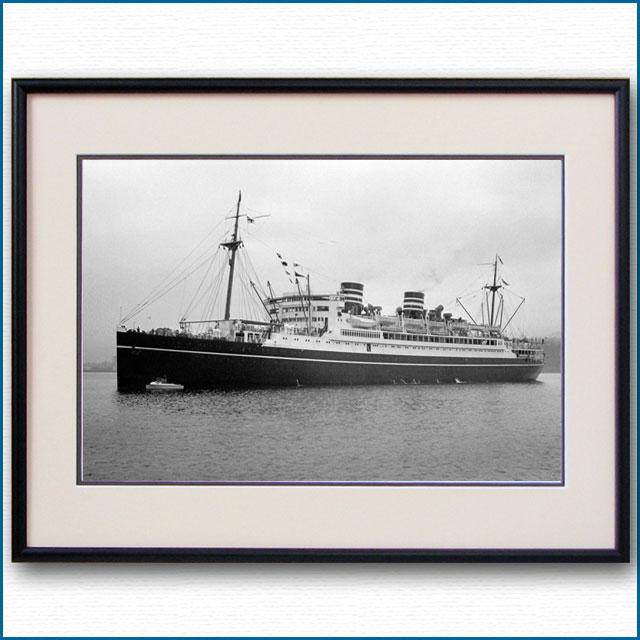 1936年 日本郵船・浅間丸の写真 2492LL