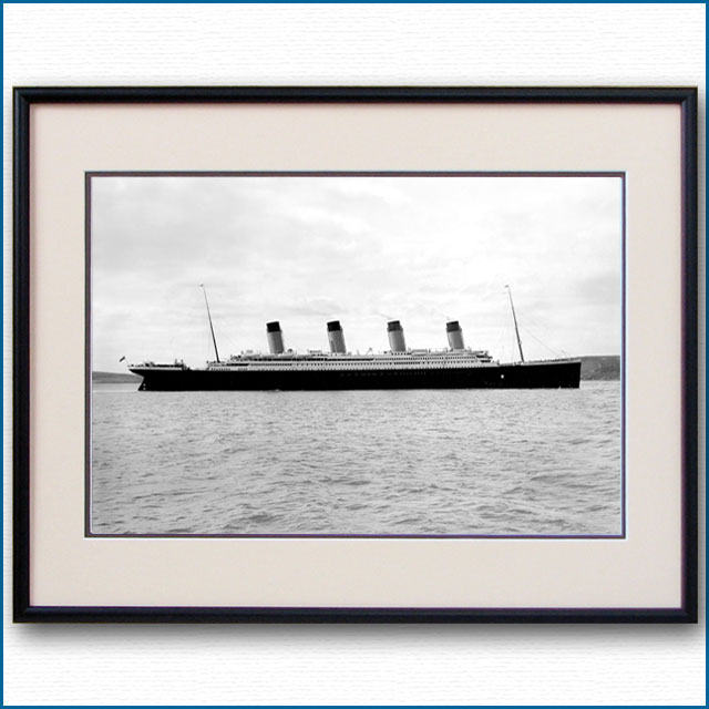 1912年 客船タイタニックの写真 2493LL