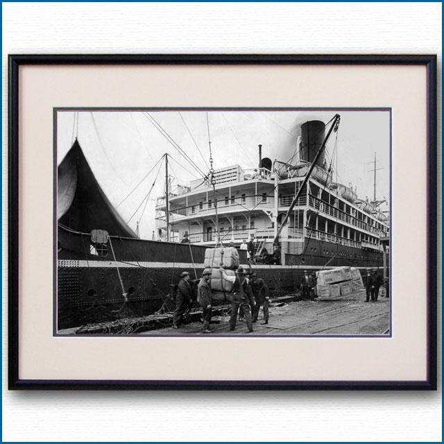 1920年代 日本郵船・諏訪丸の写真 2506LL