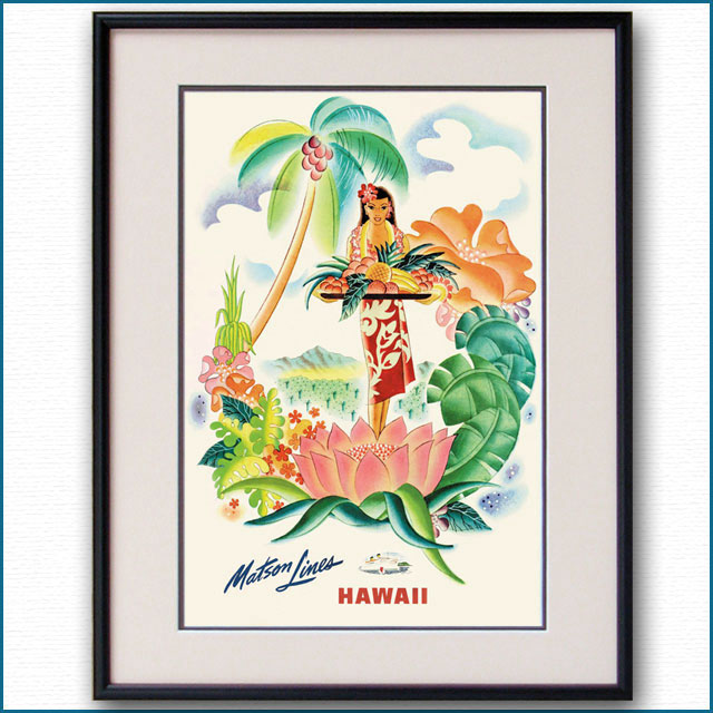 1940年 フランク・マッキントッシュ マトソンラインのポスター 2634LL