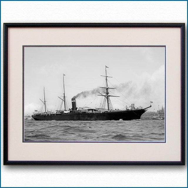 1890年代 客船シティ・オブ・ベルリンの写真 2724LL