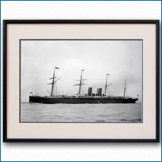 1890年代 客船アラスカの写真 2726LL