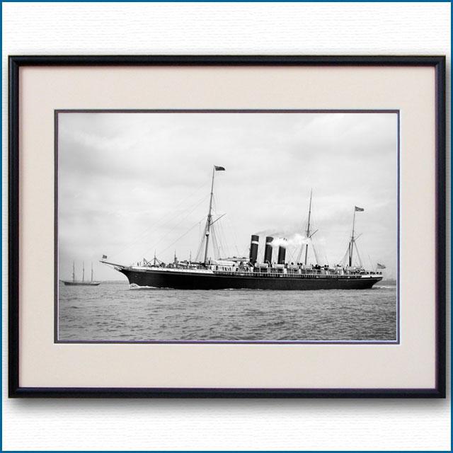 1890年代 客船シティ・オブ・パリの写真 2727LL