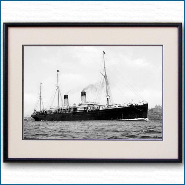 1890年代 客船チュートニックの写真 2729LL