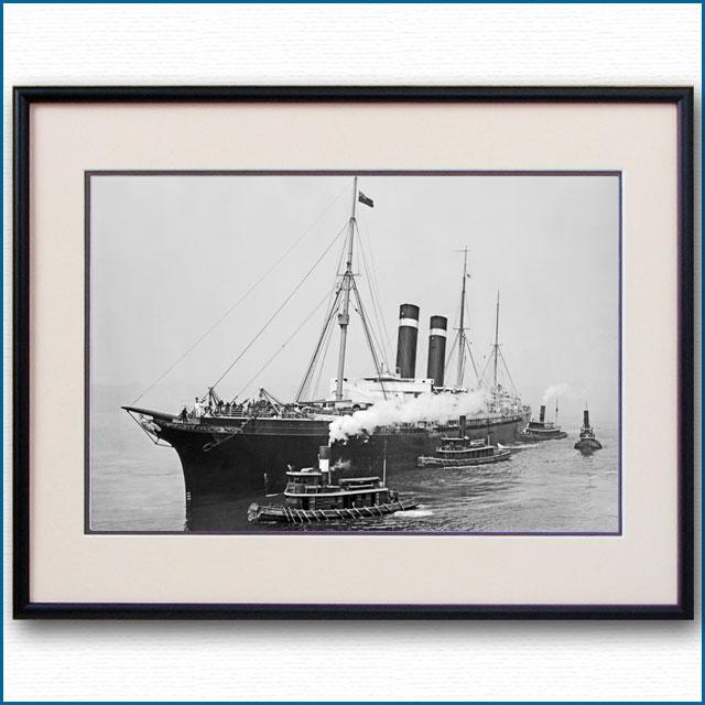 1908年 客船シティ・オブ・ニューヨークの写真 2730LL