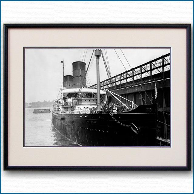 1893年 客船カンパニアの写真 2731LL