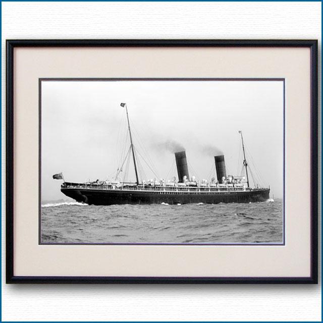 1894年 客船ルカニアの写真 2732LL