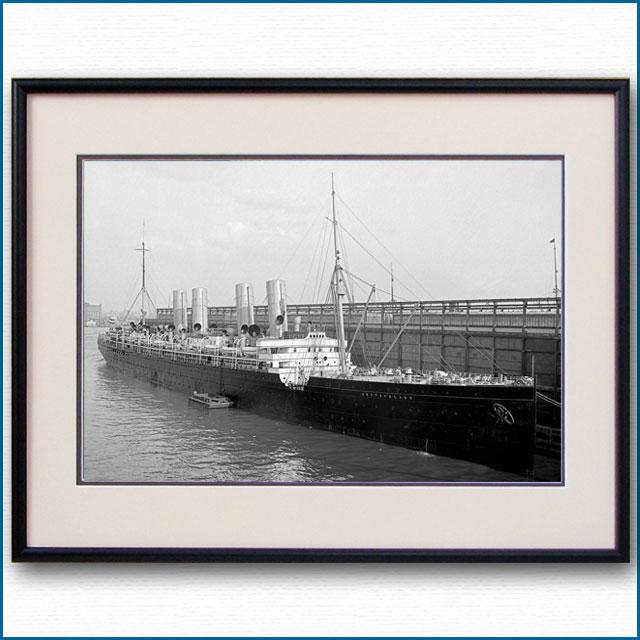 1900年頃 客船ドイチェラントの写真 2734LL