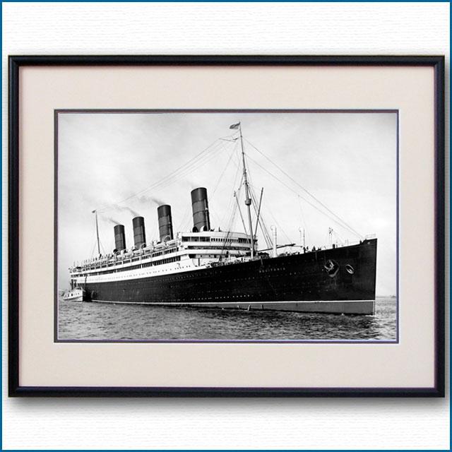 1914年 客船アキタニアの写真 2739LL