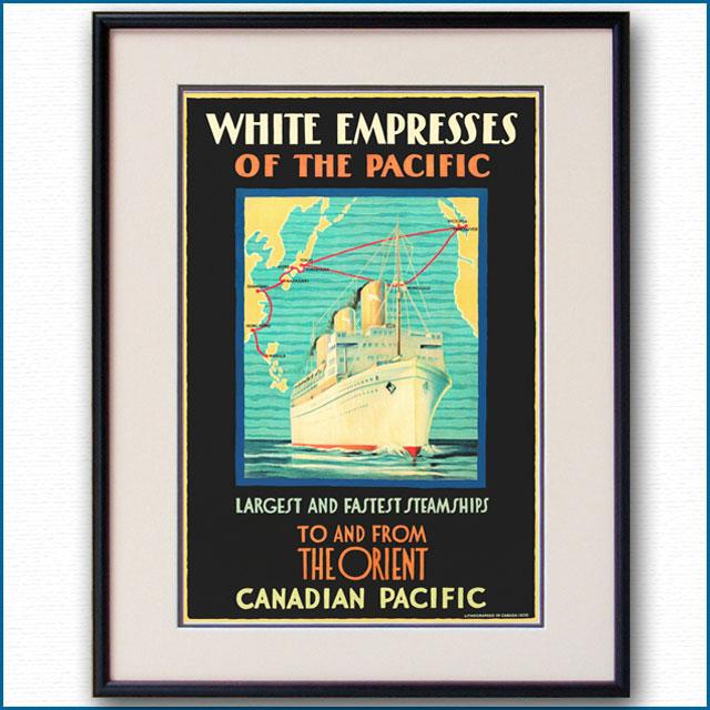 1930年 CPL 客船エンプレス・オブ・ジャパンのポスターのポスター 2814LL