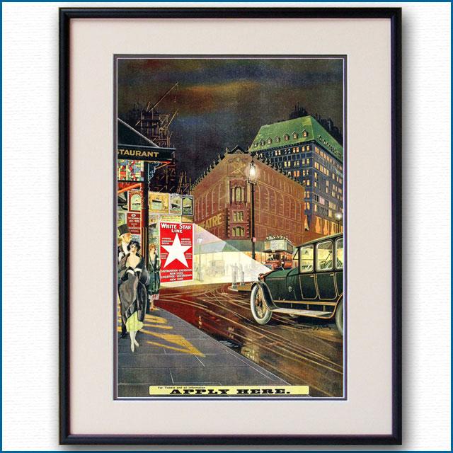 1920年 ホワイトスターラインのポスター 2980LL
