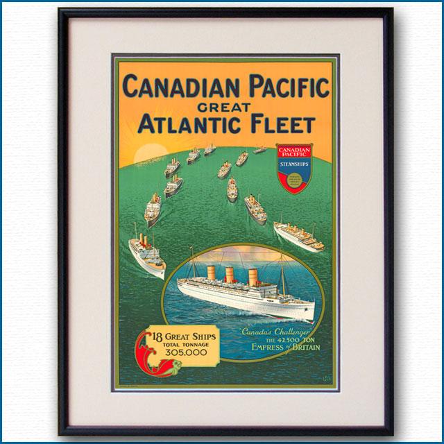 1932年 H.J.B. カナディアン・パシフィックのポスター 3078LL