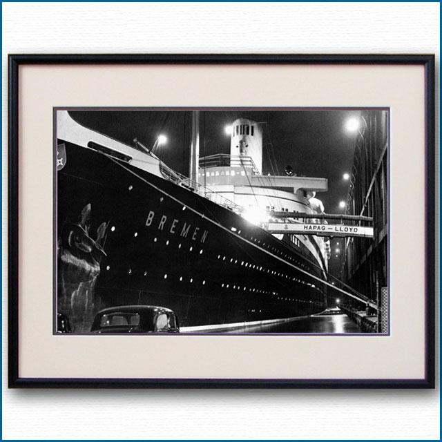 1939年 客船ブレーメン・ニューヨーク脱出前夜の写真 3219LL