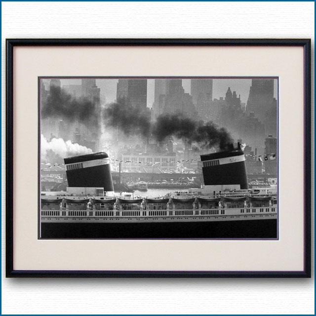 1952年 客船ユナイテッドステーツ・マンハッタンの写真 3220LL