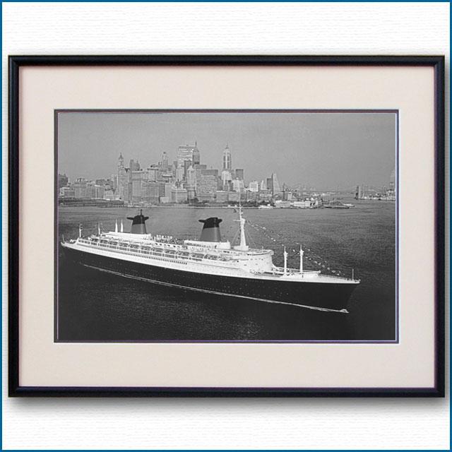 1962年 客船フランス・ロウアーマンハッタンの写真 3224LL