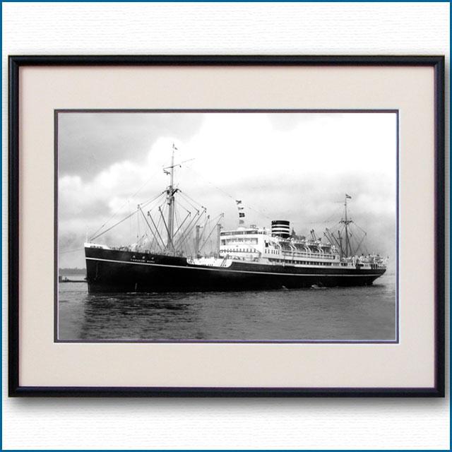 1930年代 日本郵船・靖国丸の写真 3236LL