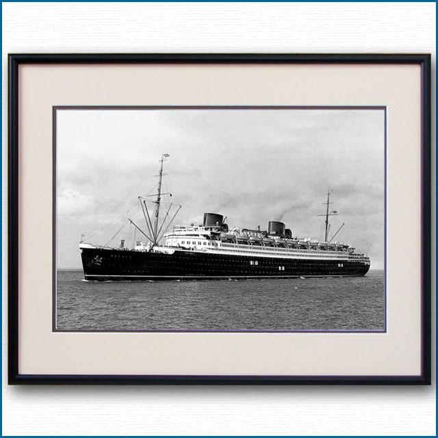 1929年 客船ブレーメンの写真 3237LL
