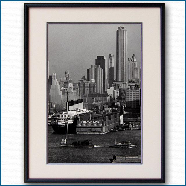 1936年 マンハッタン88番埠頭の写真 3257LL