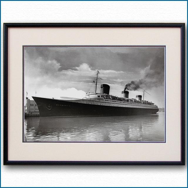 1938年頃 客船ノルマンディーの写真 3260LL