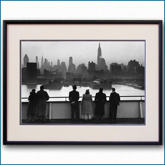 1939年 客船クイーンメリーニューヨーク出航の写真 3267LL