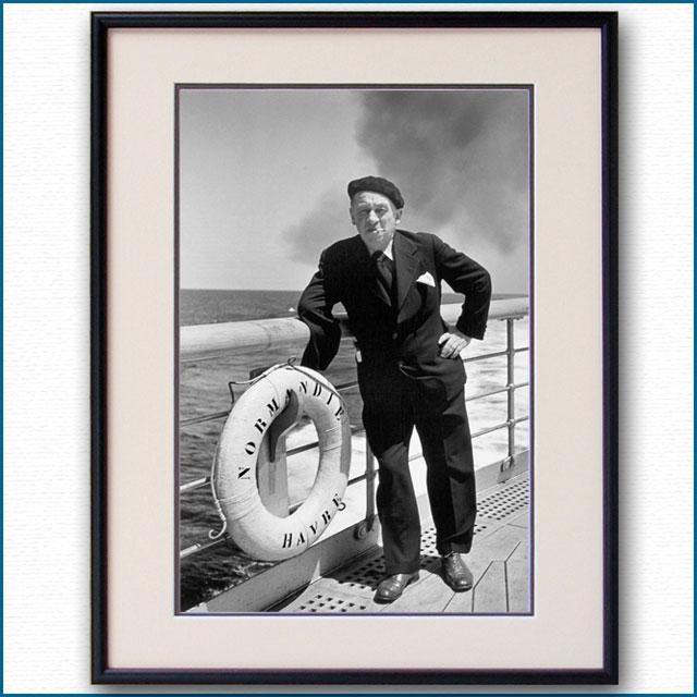 1935年 客船ノルマンディー船上 ブレーズ・サンドラールの写真 3272LL