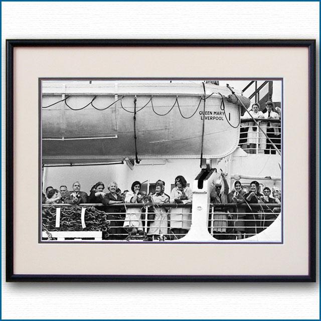 1967年 客船クイーンメリー・ボートデッキの写真 3273LL
