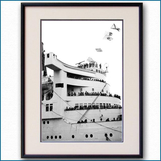 1950年代 客船クイーンメリー・ブリッジの写真 3280LL