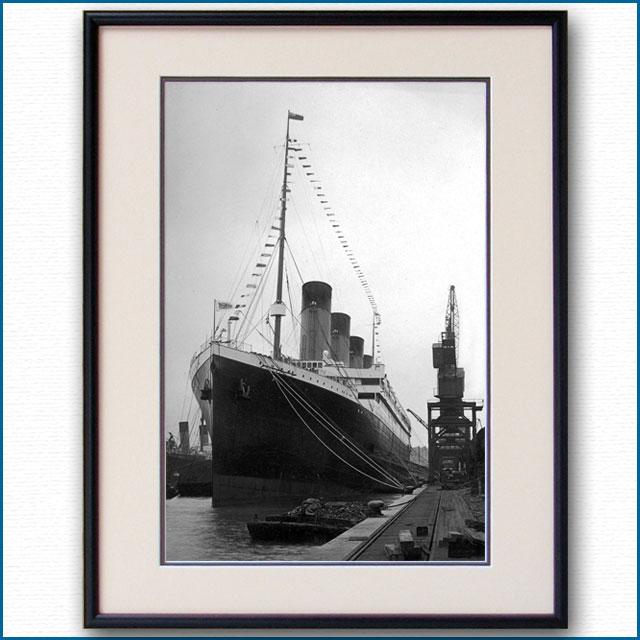 1912年 客船タイタニック・サウザンプトンの写真 3282LL