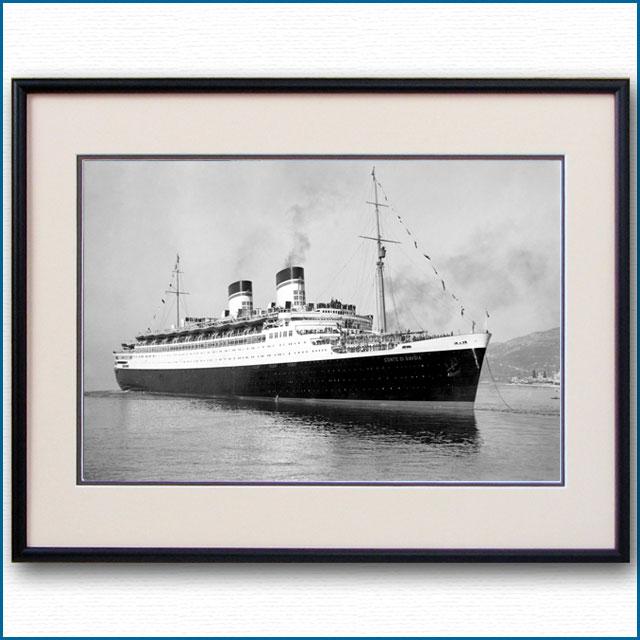 1932年 客船コンテ・ディ・サヴォアの写真 3286LL