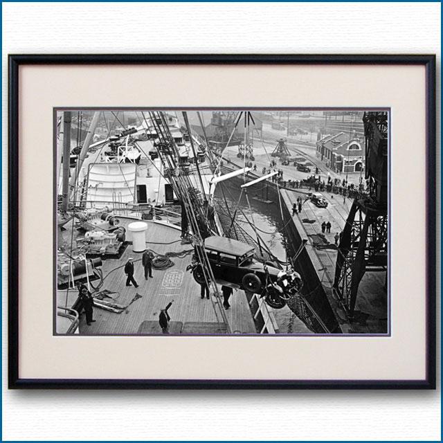 1936年 客船クイーンメリー・船首楼甲板の写真 3289LL