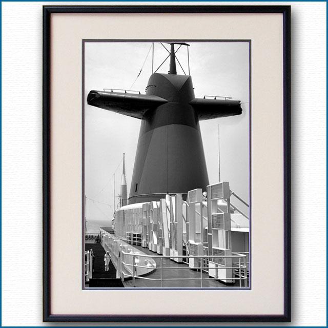 1960年代 客船フランス・ファンネルの写真 3293LL