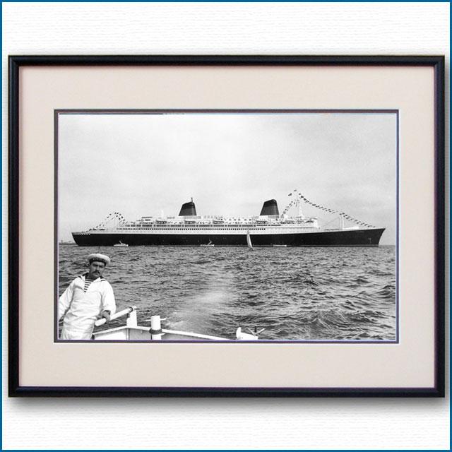 1962年 客船フランス テンダーボートからの写真 3294LL